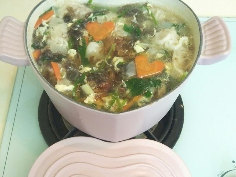 我家的餛飩湯麵