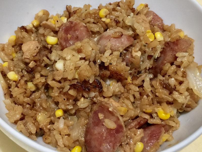 玉米香腸炊飯