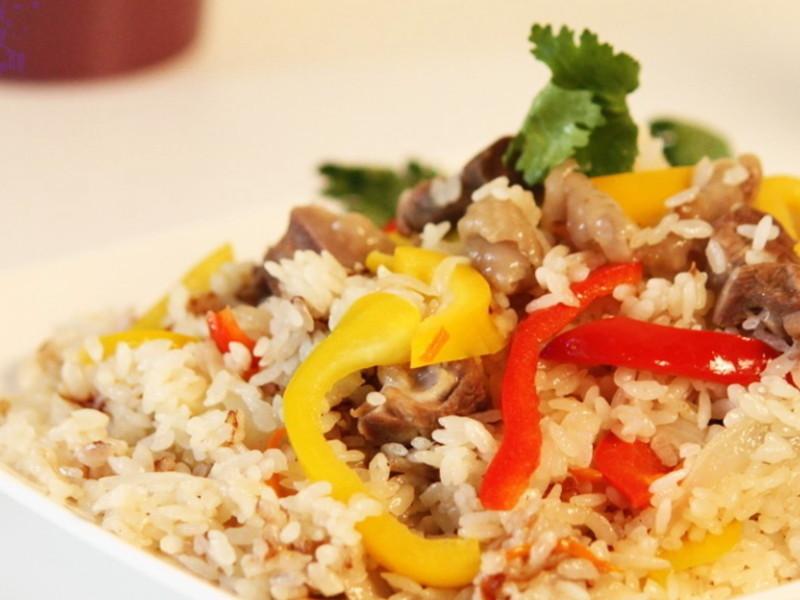 【哇菜】 雙椒雞肉燉飯