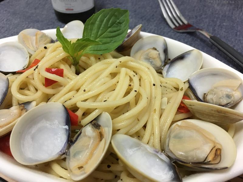 白酒蛤蜊義大利麵