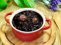 紫米紅豆桂圓粥