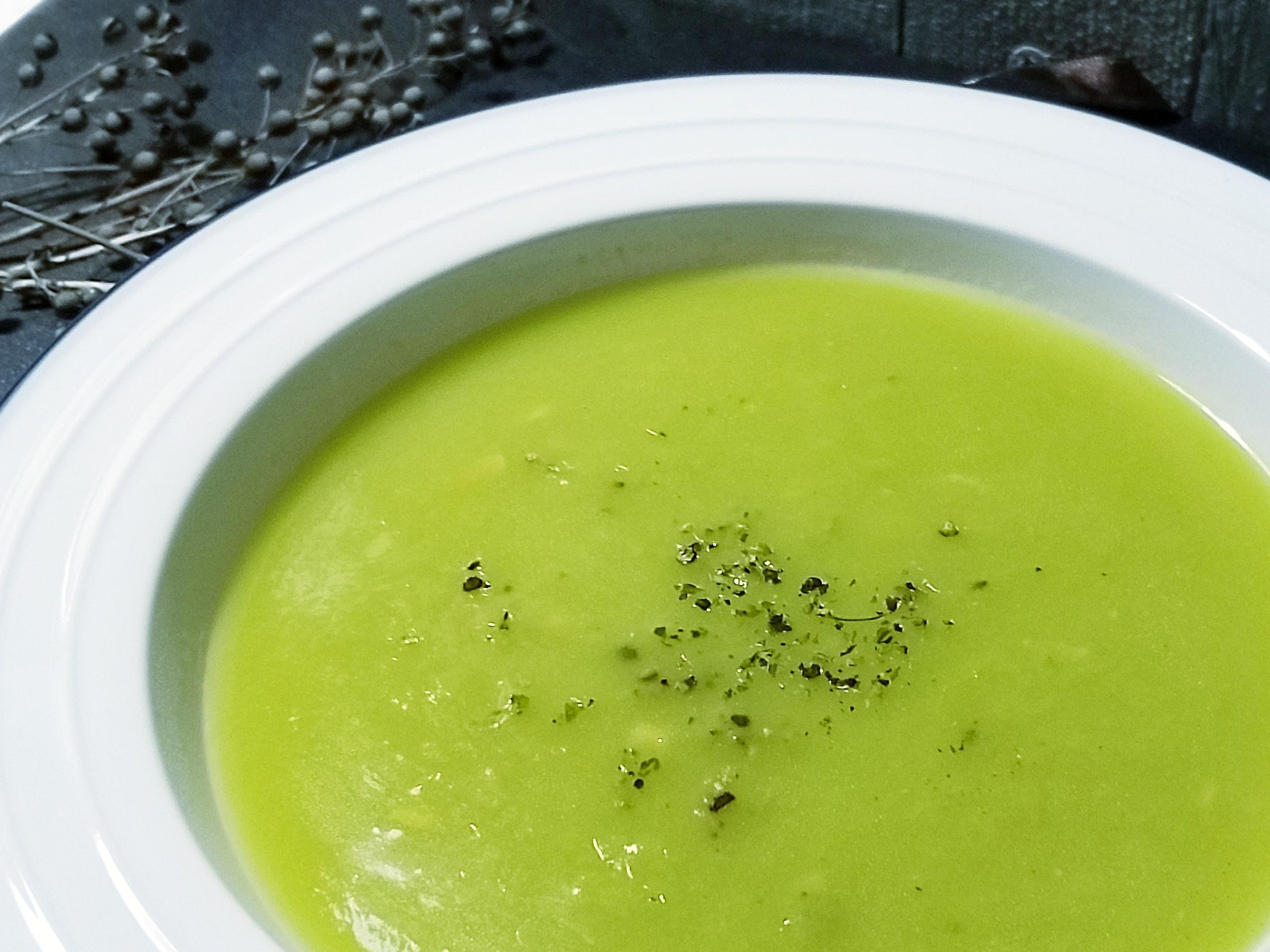 菠菜奶油玉米濃湯