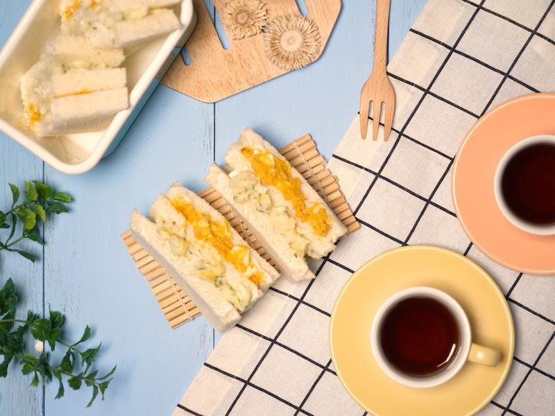 南瓜&馬鈴薯蛋沙拉三明治