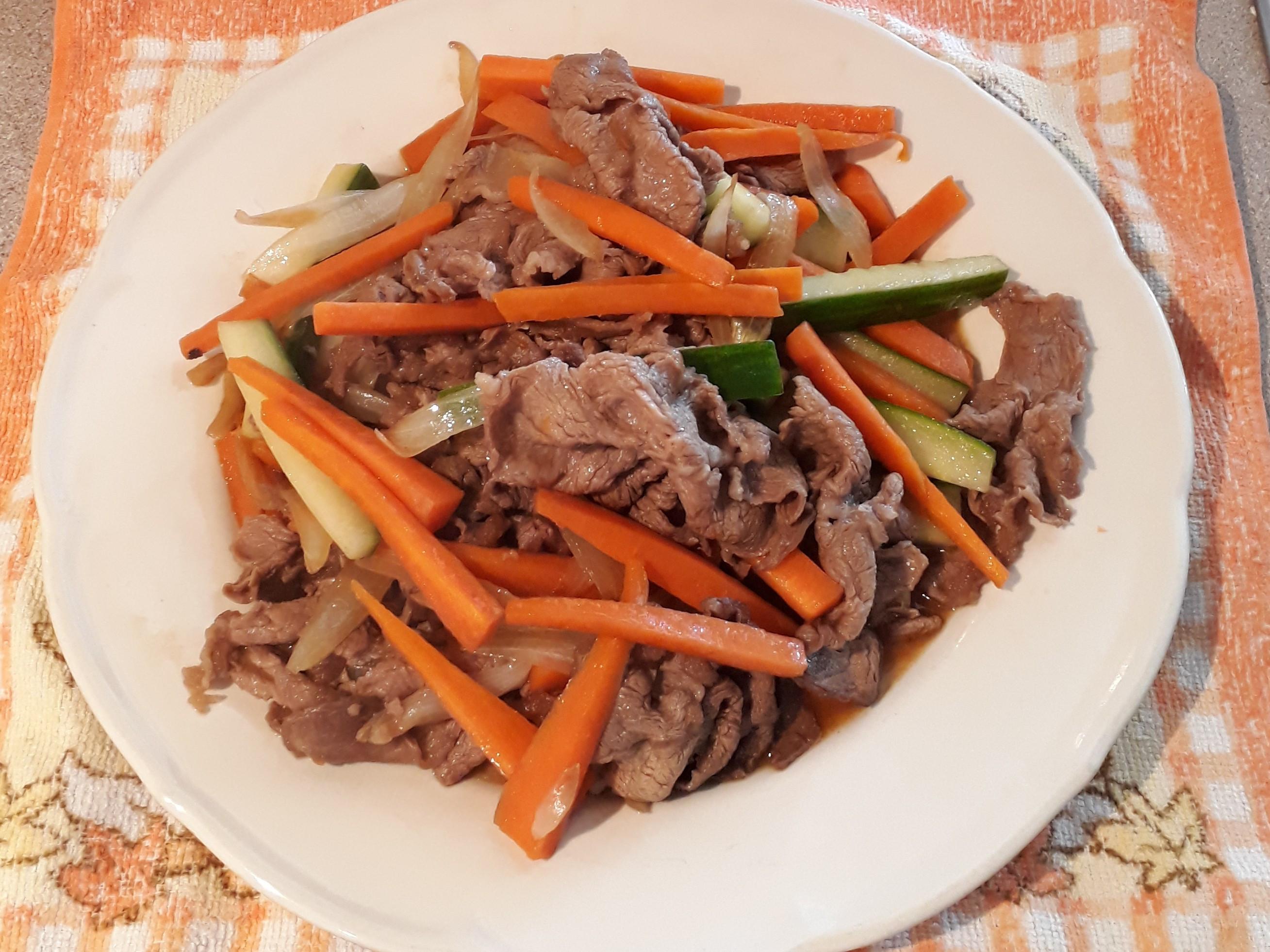 日式照燒汁炒牛肉