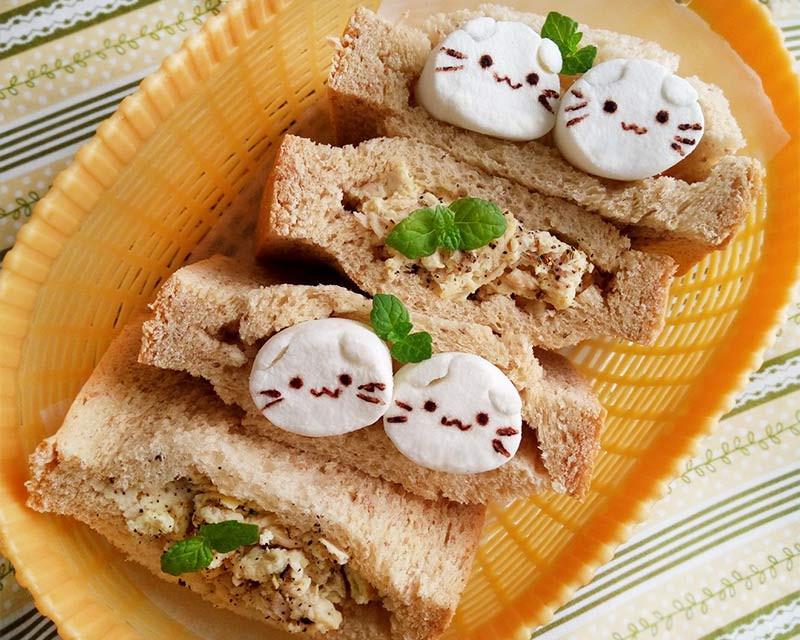 貓與魚口袋吐司