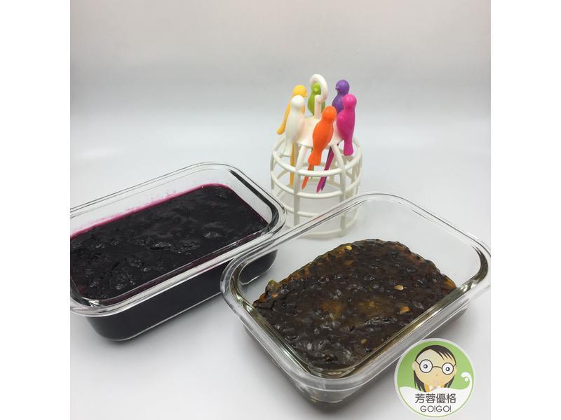自製百香果與藍莓果醬