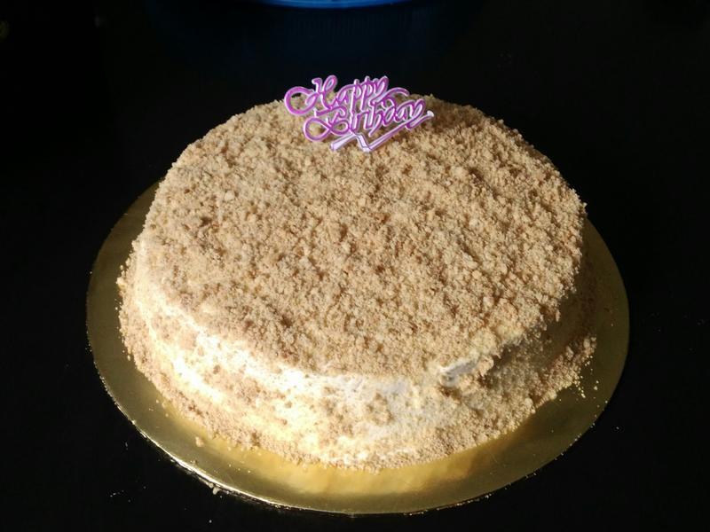 草莓粉蛋糕