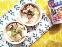 豬肉蛤蠣味增湯