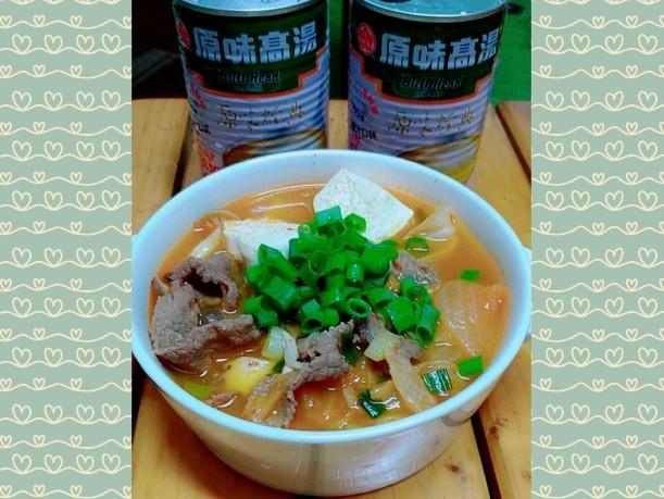 韓式泡菜牛肉鍋