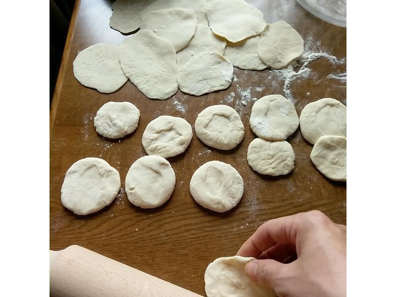 簡單的自製水餃皮
