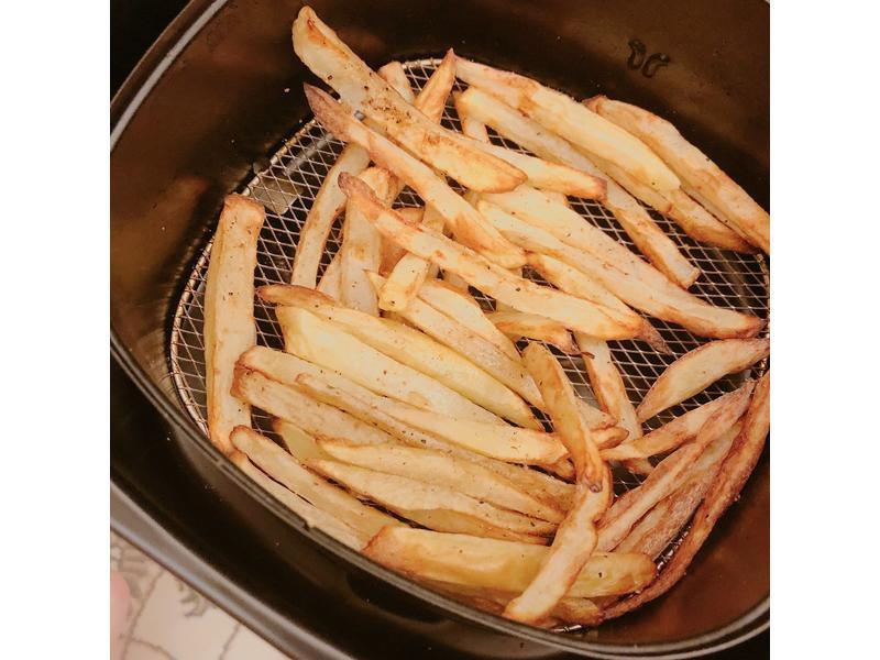 氣炸鍋自製薯條