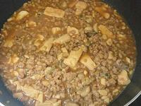 鮮蚵肉末豆腐