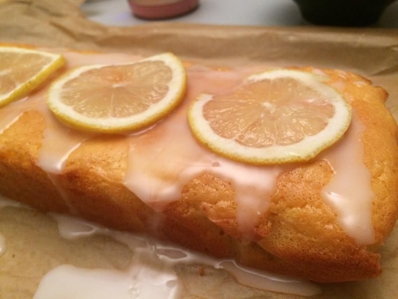 檸檬糖霜生日磅蛋糕