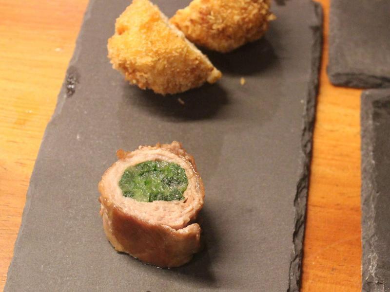 小松菜豚肉巻