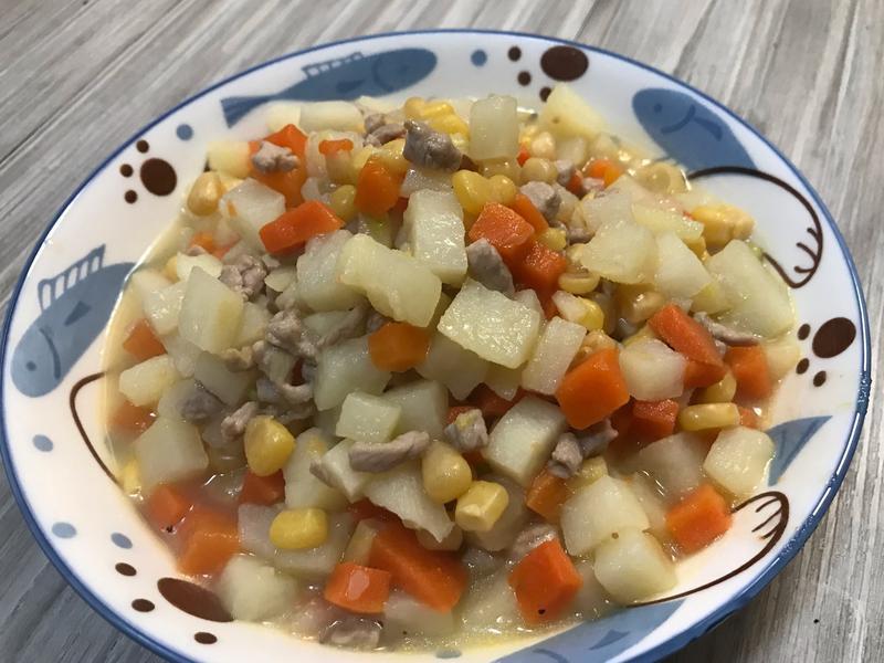 👨🏻🍳馬鈴薯玉米肉燥-滿滿飽足感