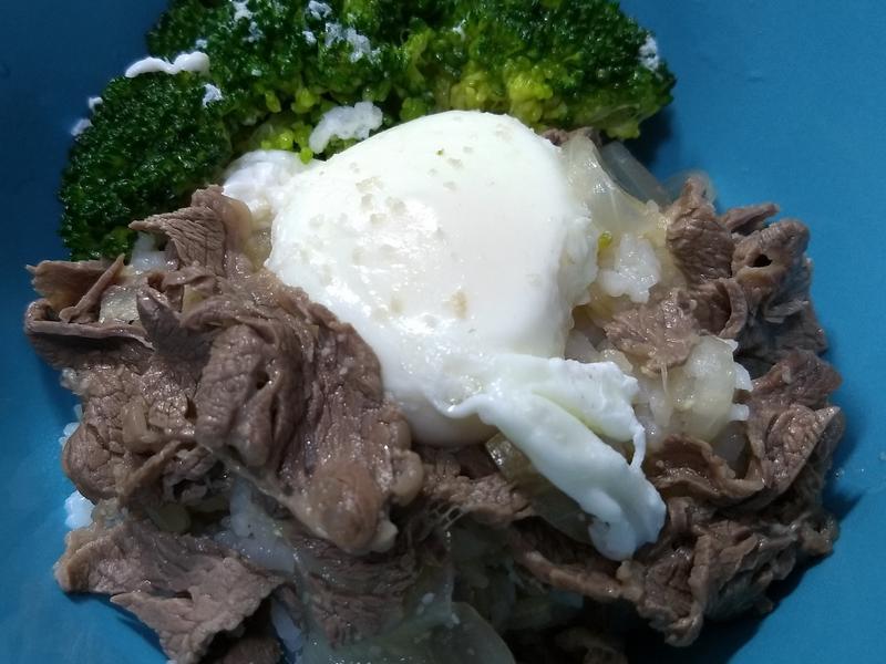 簡單風牛丼