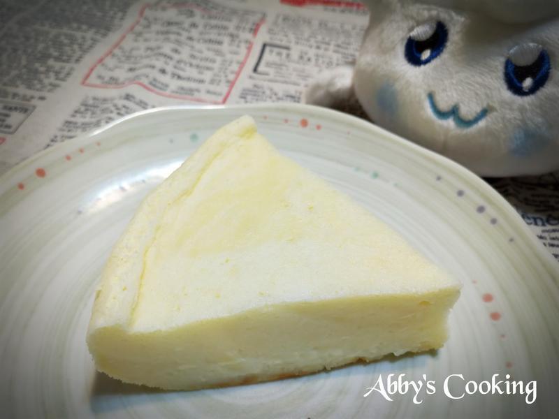 檸檬輕乳酪天使蛋糕(電子鍋)