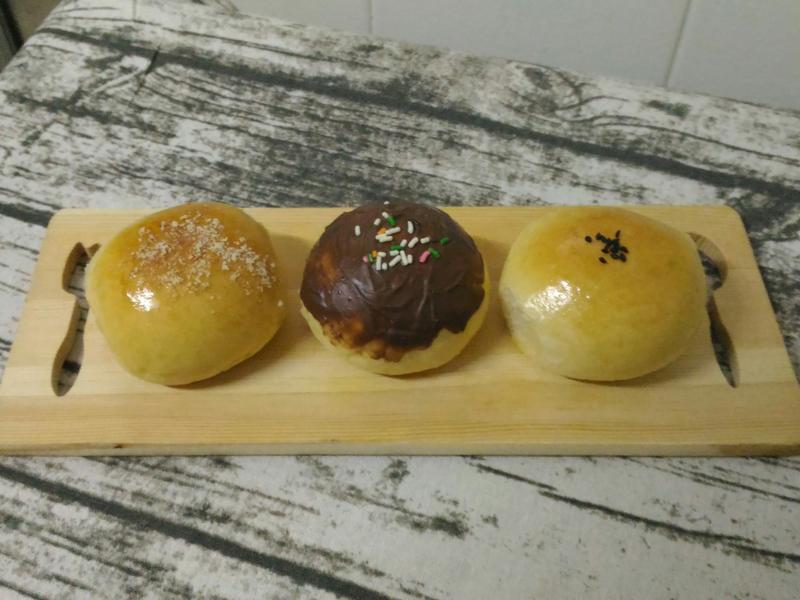 果醬餐包(三種口味)
