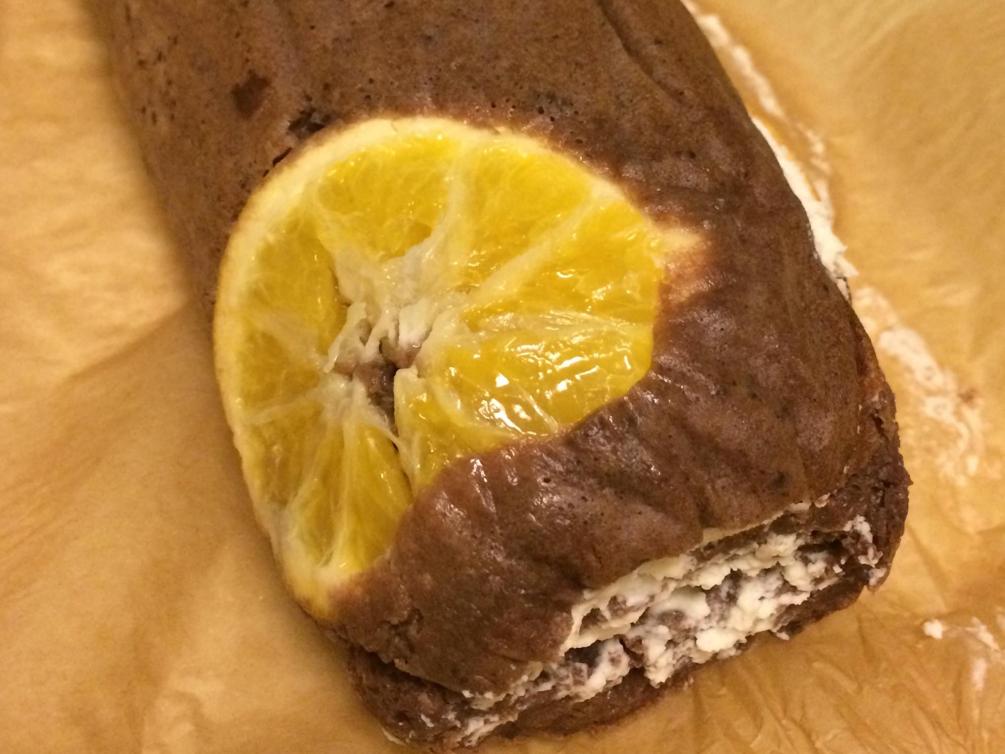 深夜橙香巧克力萊姆酒瑞士卷