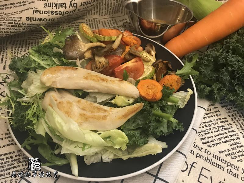 【影片】慢煮鹽水雞柳【老娘的草根飯堂】