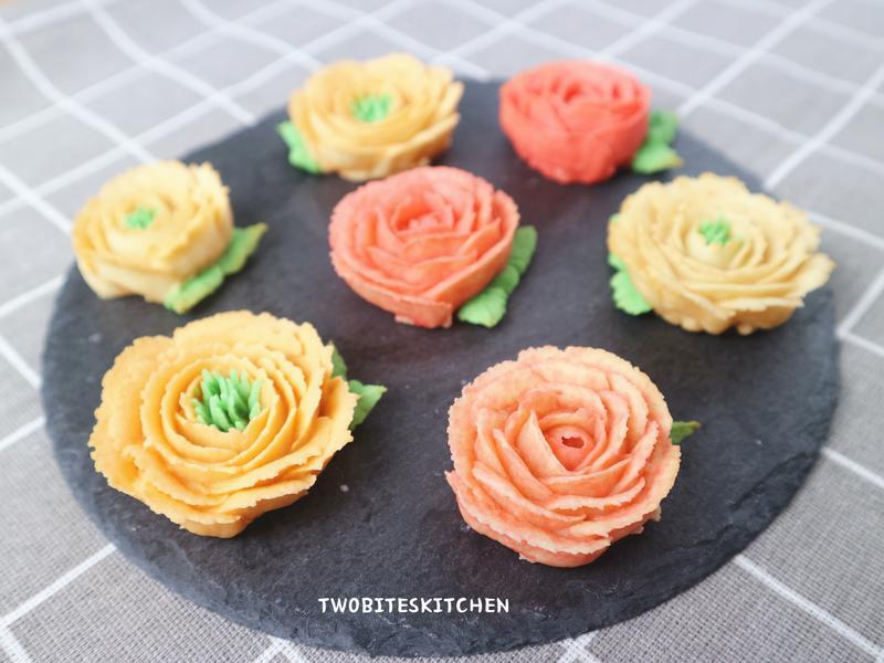 花花豆蓉餅乾