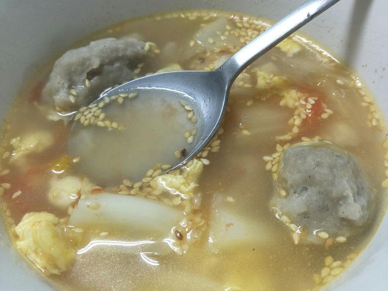 海鲜风味番茄汤