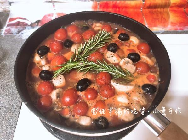 微涼秋季的料理【義式獵人燉雞】