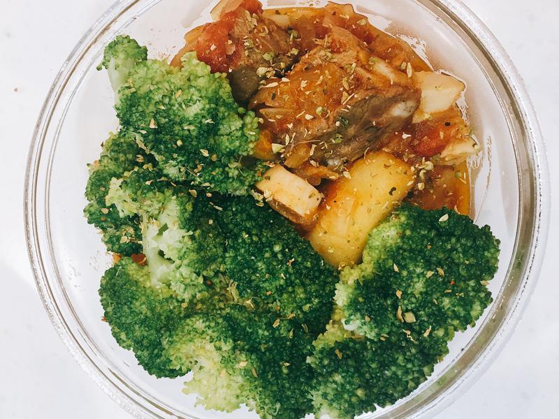 番茄馬鈴薯燉肉