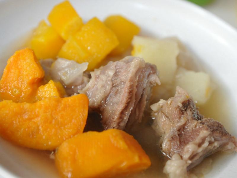 地瓜時蔬燉牛肉