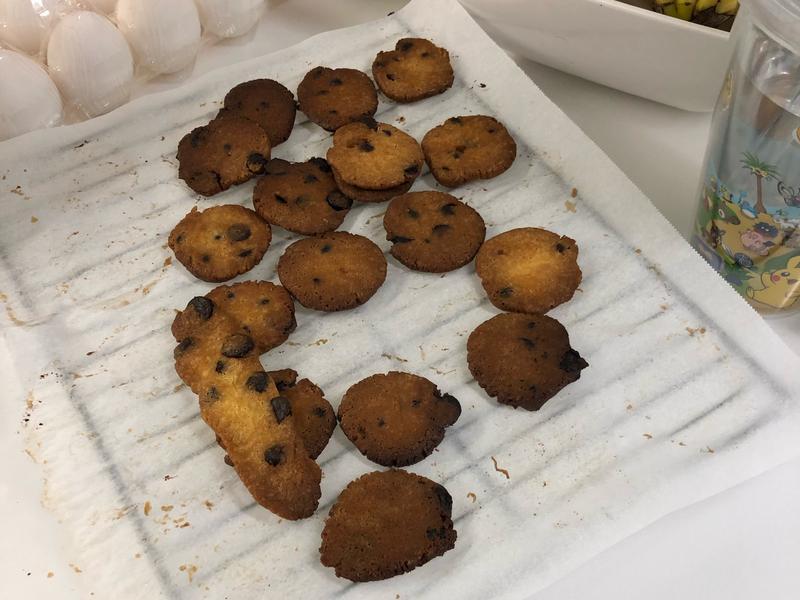 超簡單生酮巧克力豆餅乾