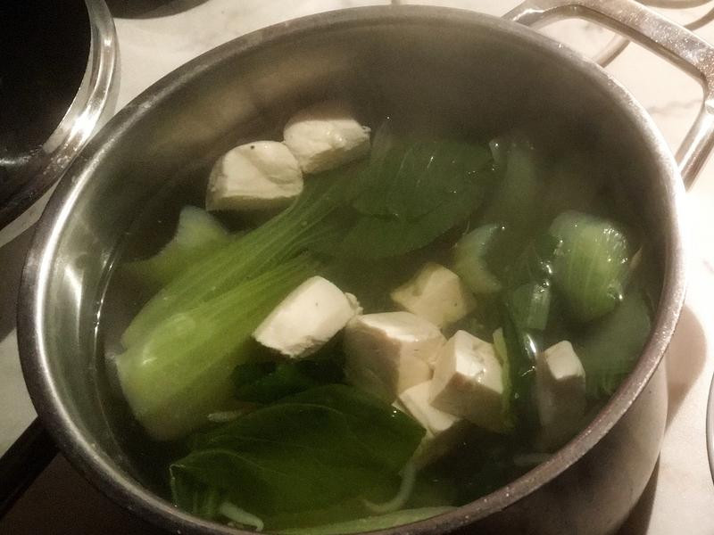青菜豆腐湯1