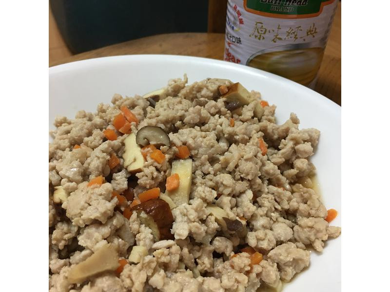 日式香菇絞肉(牛頭牌原味高湯-雞肉風味)