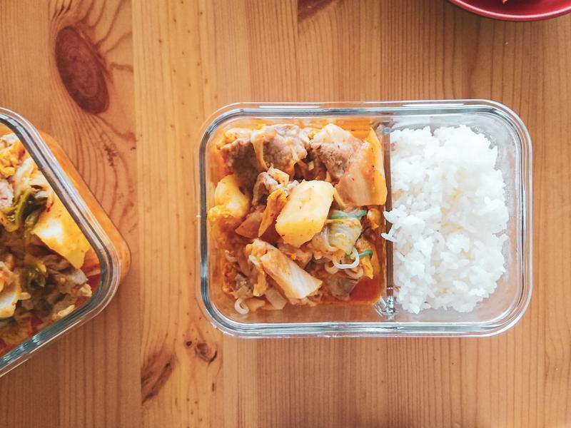 [便當菜]泡菜馬鈴薯燉肉