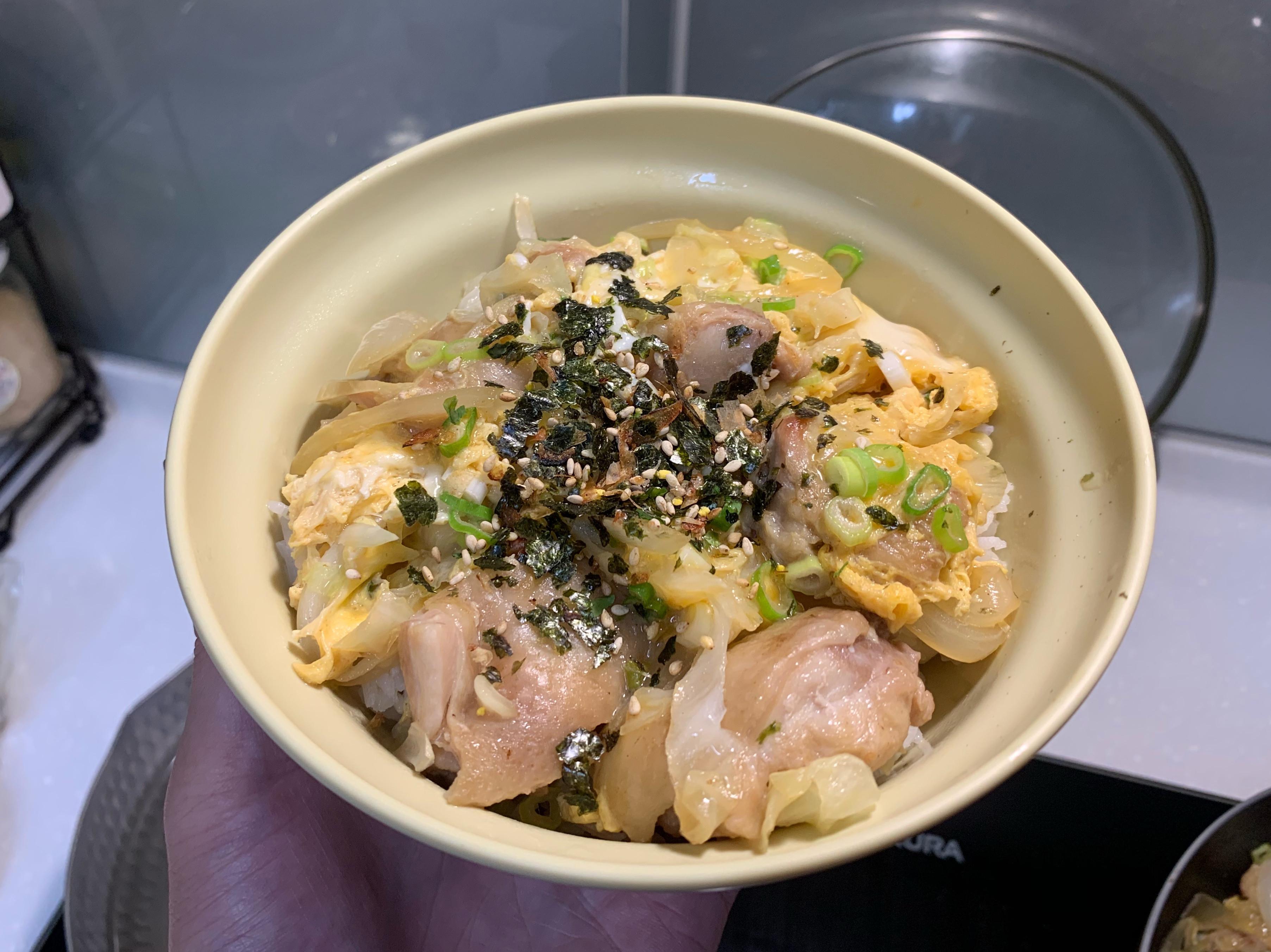 #01 親子丼飯