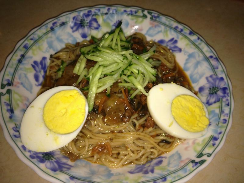 『十分鐘料理』海苔肉醬拌麵