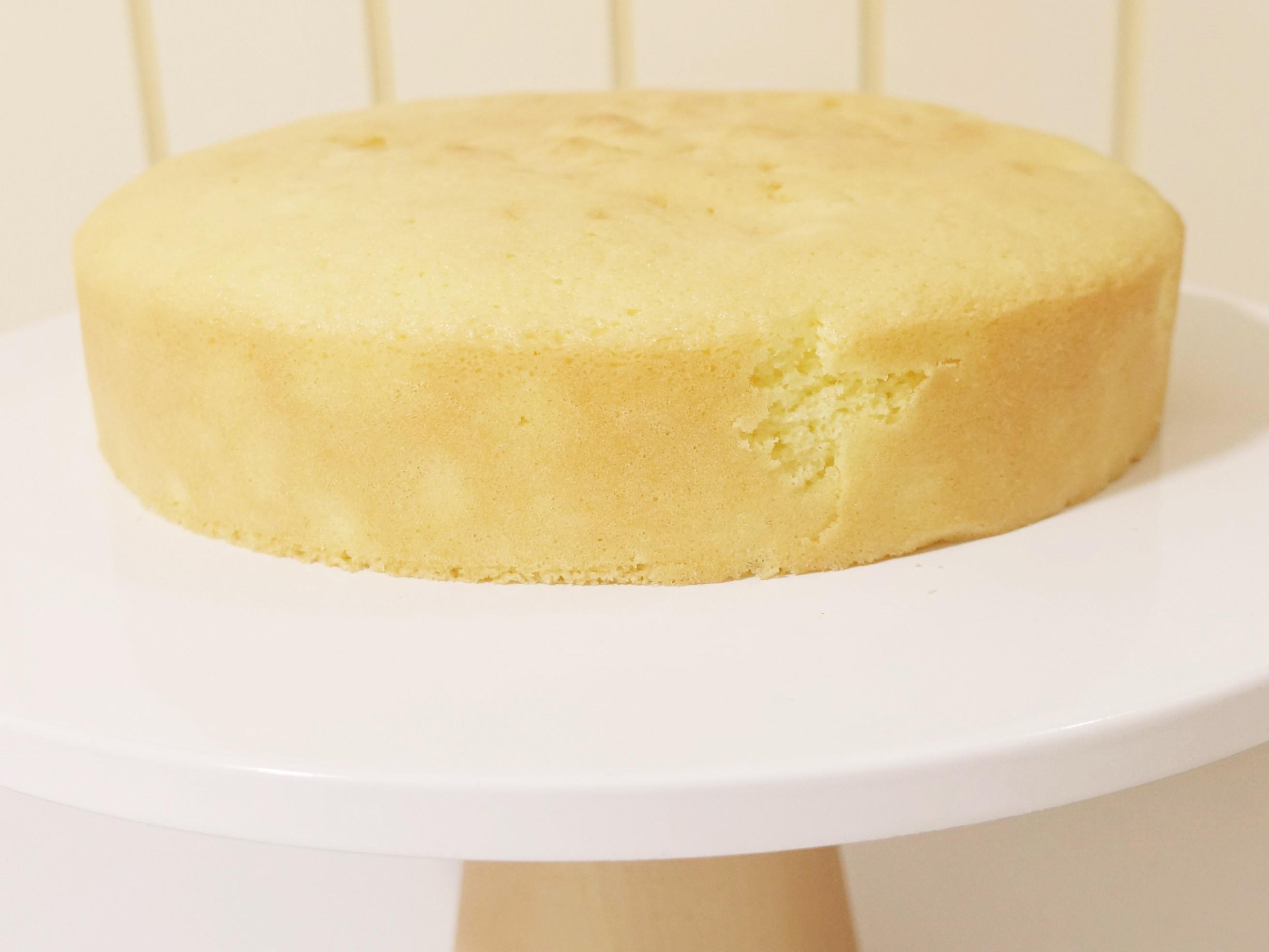 全蛋海綿蛋糕(七吋)