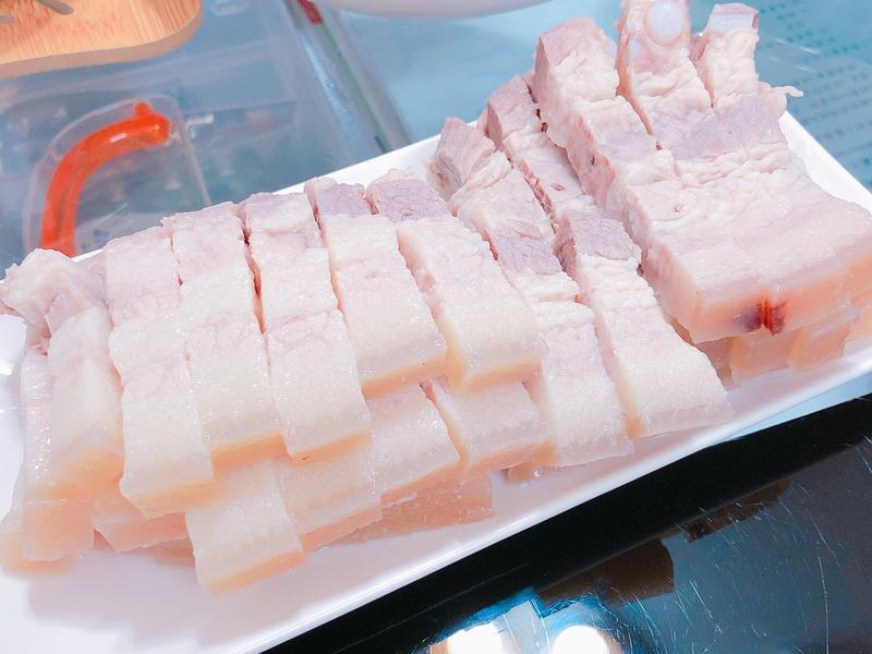 蒜泥白肉-超簡單版