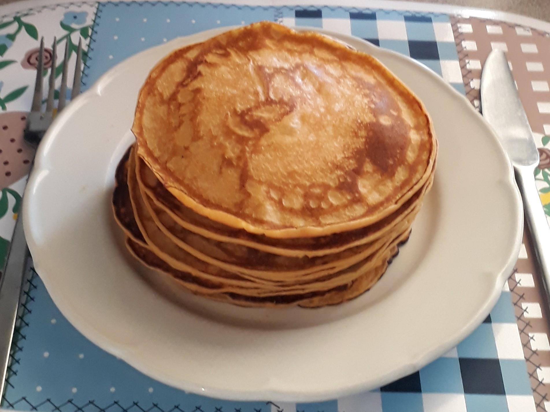 健康蕃薯煎餅 pancake