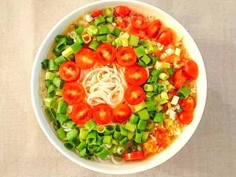 番茄雞蛋麵