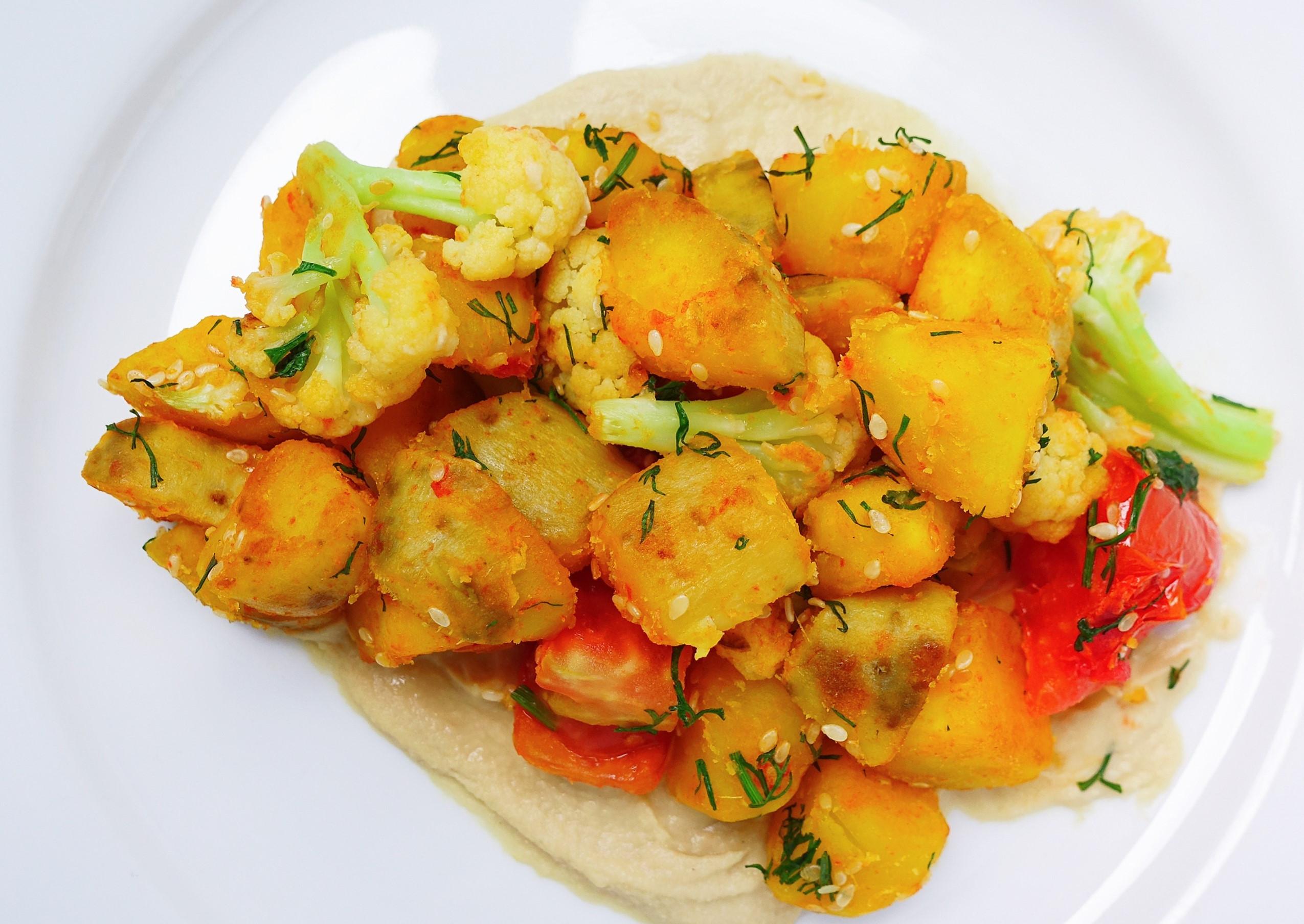 【Vegan早餐】香料炒地瓜薯塊