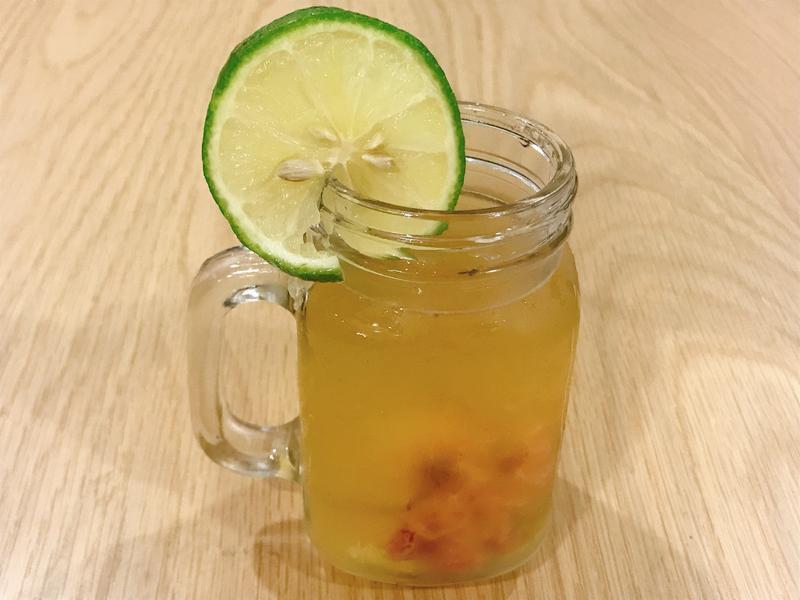 鹽漬櫻花蜂蜜檸檬茶