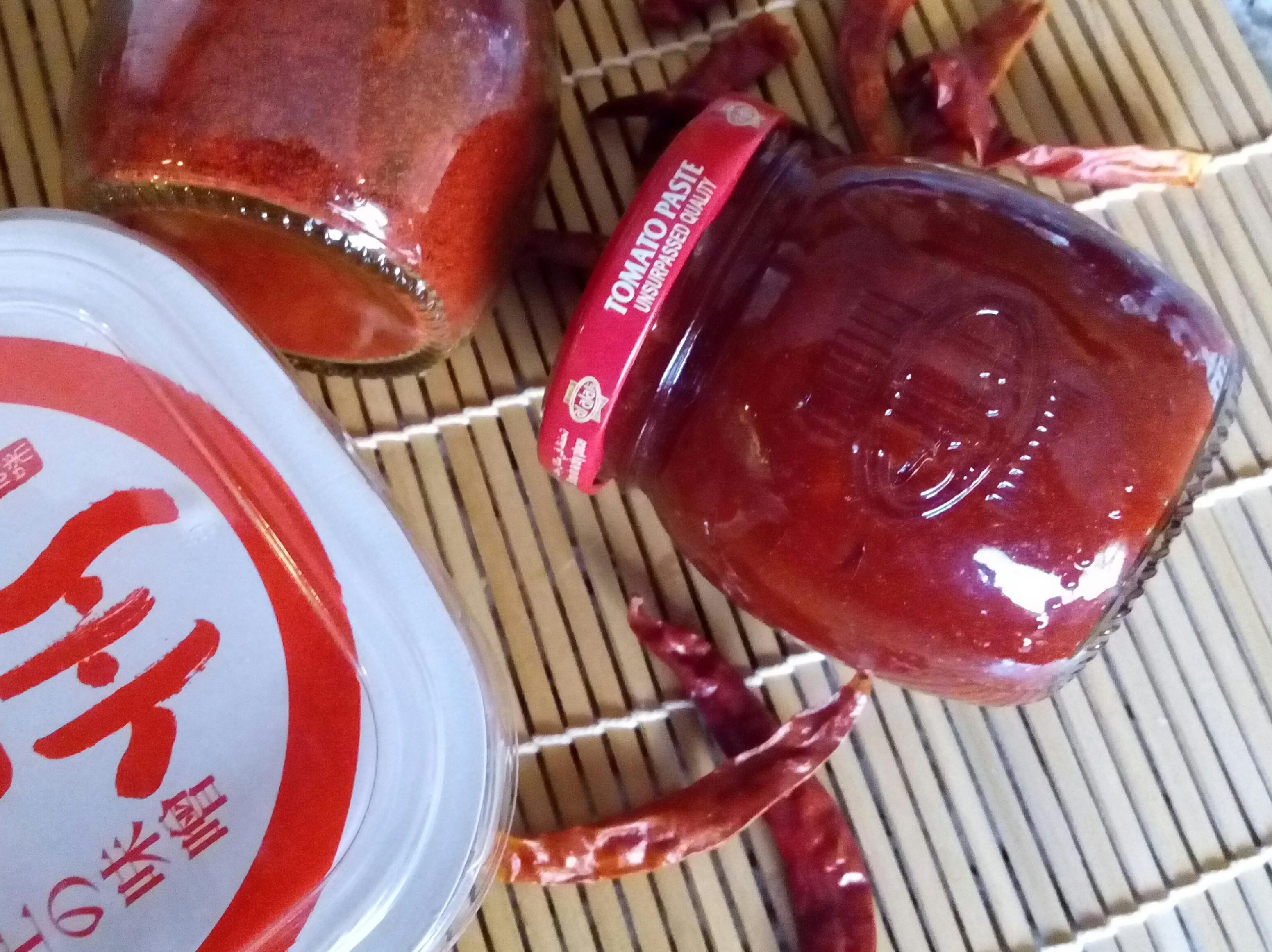 自製韓國辣椒醬(韓式辣醬)고추장-速成法