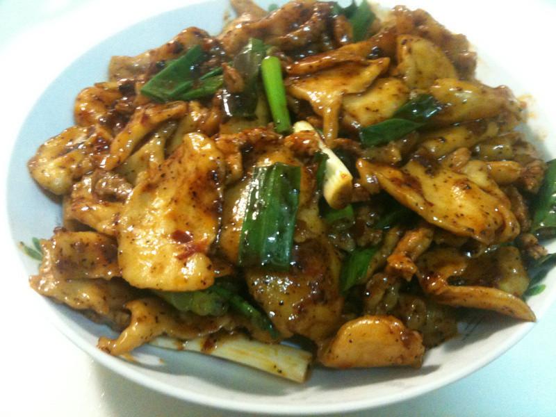 創意料理-辣炒麵疙瘩(冬天的美食)