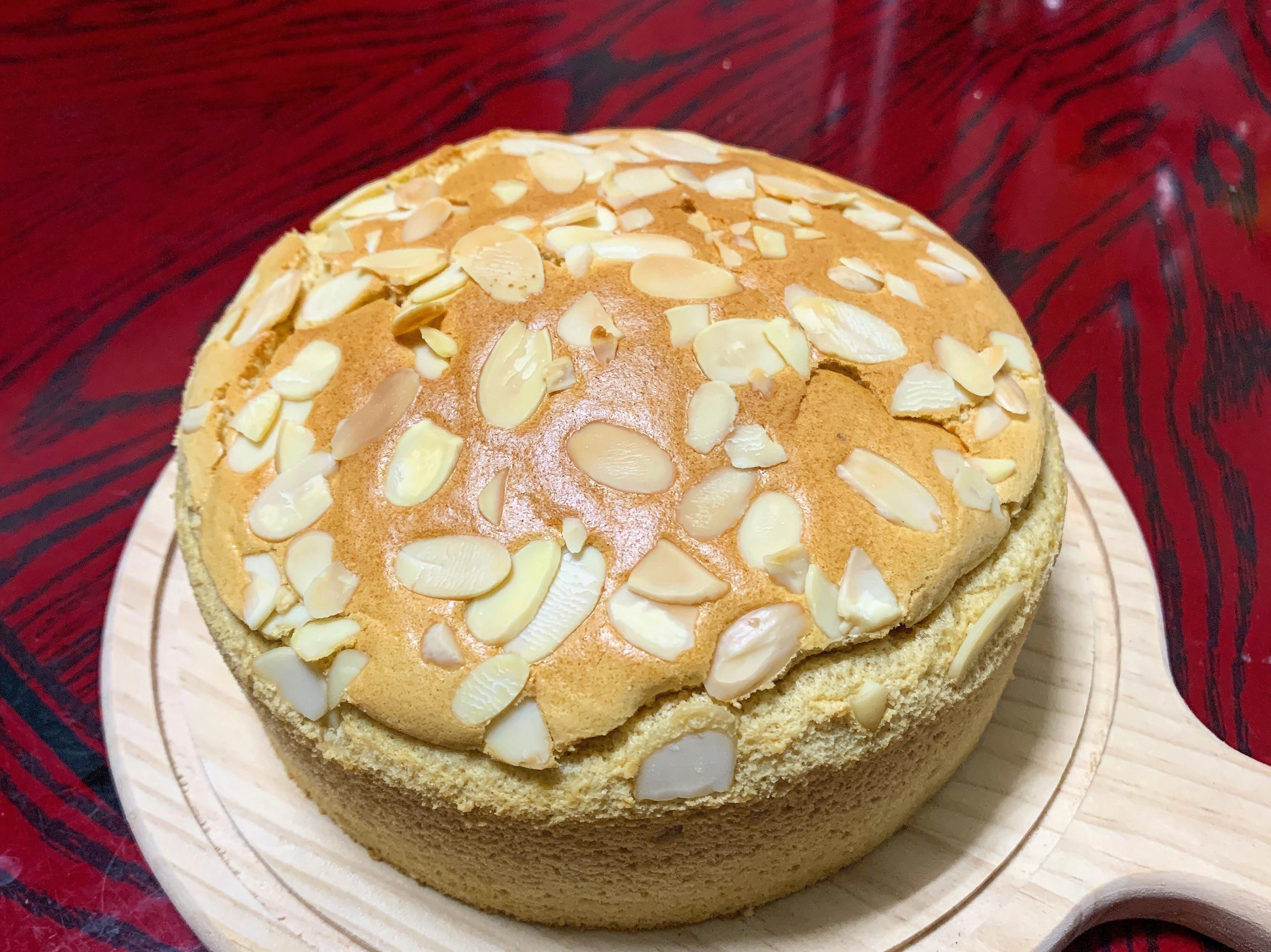 黑糖鮮奶戚風蛋糕(燙麵)