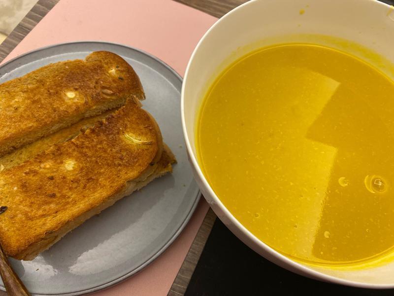 烤南瓜濃湯(烤箱版)