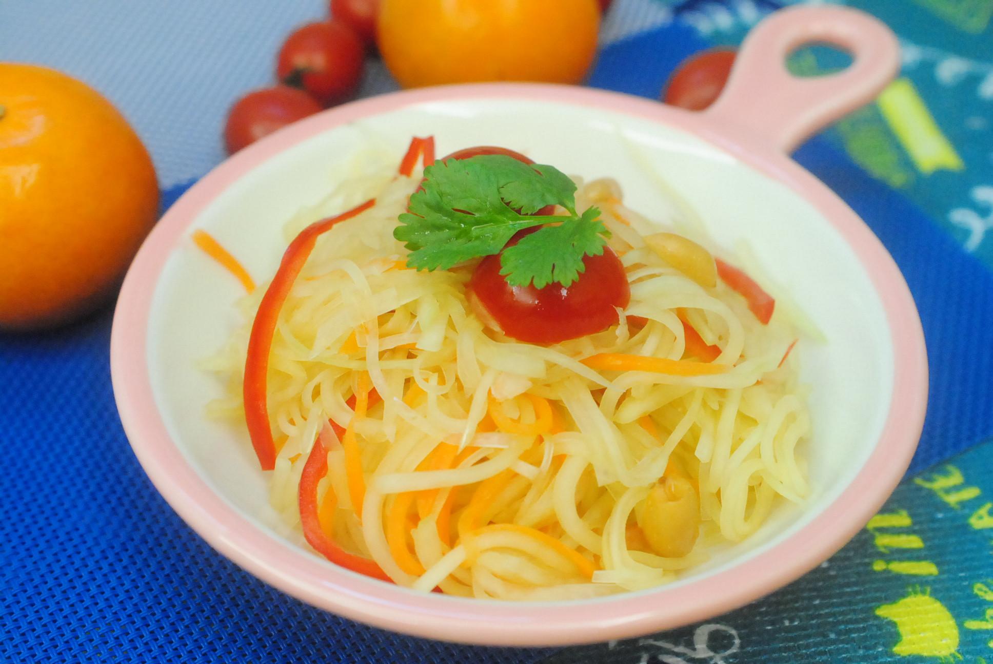 涼拌泰式青木瓜絲