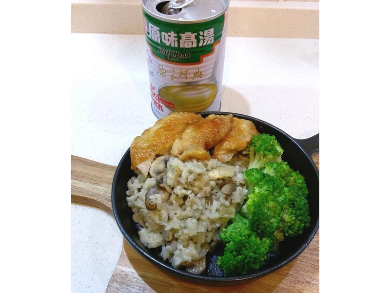 松露蘑菇燉飯