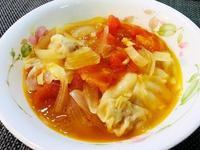 洋蔥蕃茄粉絲湯