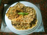塔香香菇煎餅
