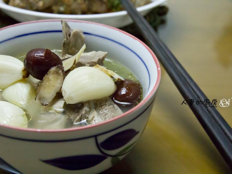 養生蒜頭雞湯